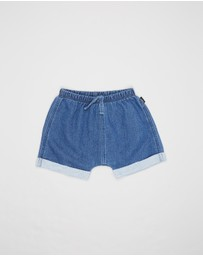 Bonds Baby - Terry Denim Shorts - Babies