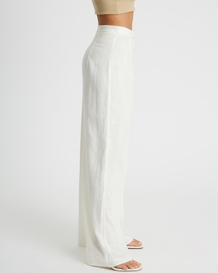 Calli Kylie Pants - Pants (White)