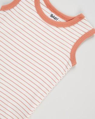 Cotton On Baby 3 Pack Singlet Bubbysuit   Babies - Bodysuits (Salla Stripe Mix)