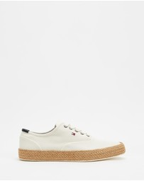 Tommy Hilfiger - Core Oxford Twill Jute Sneakers