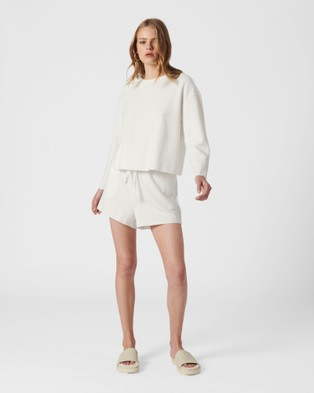 MVN Woodfire Top - Tops (White)