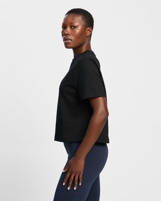 Sweaty Betty Boxy Tee Short Sleeve T-Shirts Black