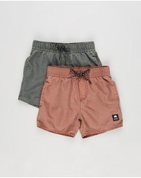 St Goliath - 2-Pack Illusion Shorts - Kids