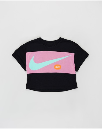 Nike - Cropped Swoosh Top - Kids