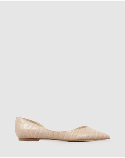 Nine West Womens Trainer Fabric Ballet Flat