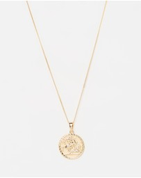Chained & Able - Sovereign Medallion Necklace