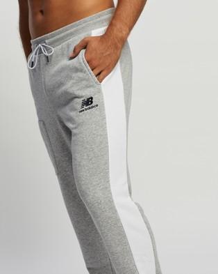 New Balance Athletics Fleece Pants Sweatpants Athletic Grey
