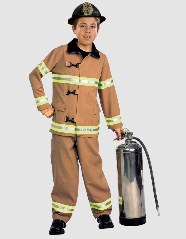Rubie's Deerfield - ​Fire Fighter Deluxe Costume - Kids
