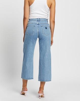 Abrand A Street Aline Jeans - Crop (Freedom)