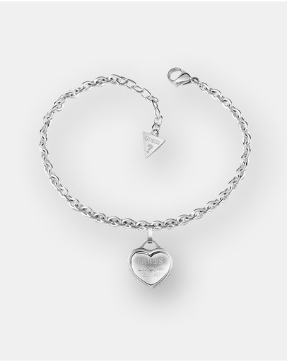Guess Follow My Charm Silver