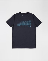 Under Armour - Glitch Wordmark Short Sleeve T-Shirt - Teens