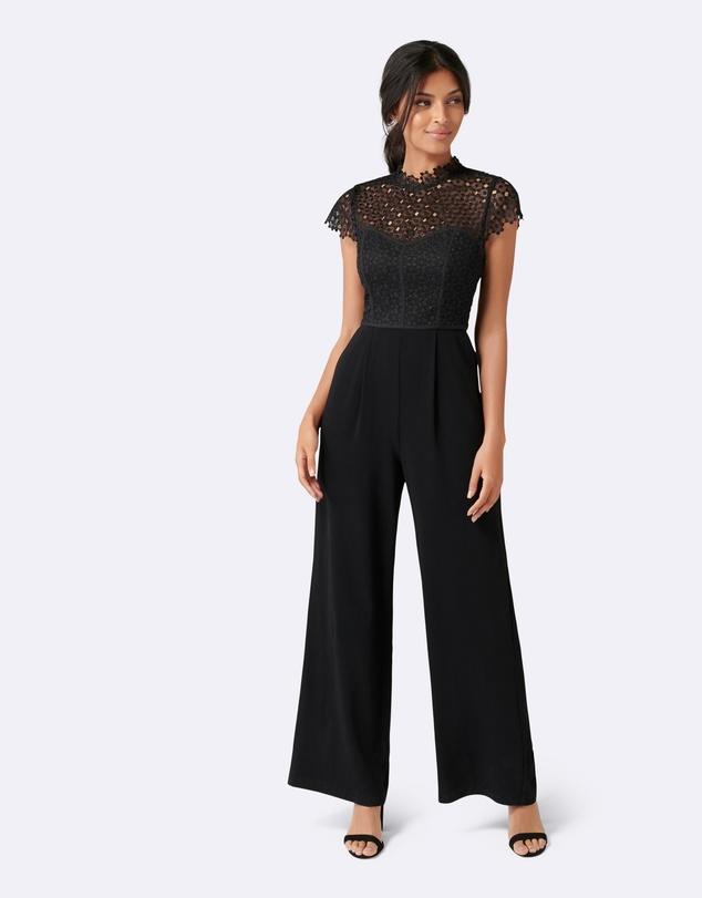 Forever New - Eloise Lace Bodice Jumpsuit