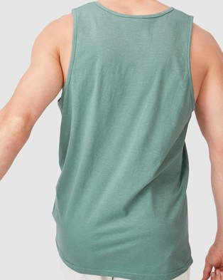 Cotton On Vacation Tank - T-Shirts & Singlets (Mineral Green)