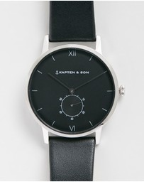 Kapten & Son - Heritage 40mm Leather Watch