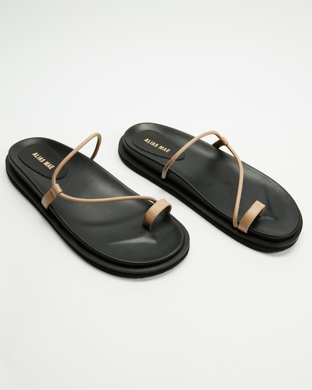 Alias Mae Soji Sandals Natural Leather