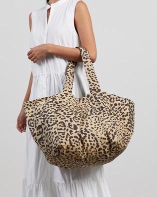 Faithfull The Brand Sorrento Tote Bag - Bags (Shamari Animal Print)