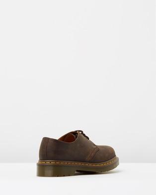 Dr Martens Unisex 1461 3 Eye Shoes - Casual Shoes (Gaucho Crazy Horse)