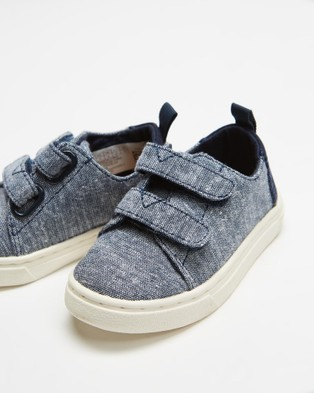 TOMS Lenny Double Strap Sneaker Tiny - Sneakers (Navy)