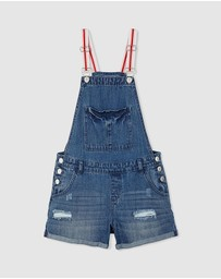 Free by Cotton On - Dixie Denim Shortall - Teens