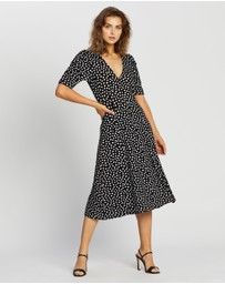 Dorothy Perkins - Empire Seam Midi Split Dress