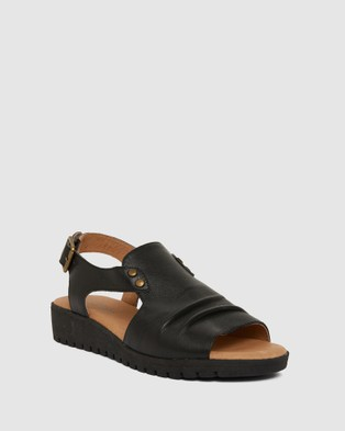 Easy Steps - Gelato Flats (BLACK)