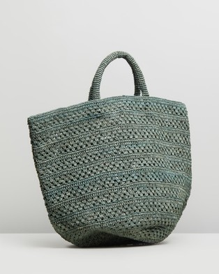 Sans Arcidet Paris Kapity Large Bag - Handbags (Safari)