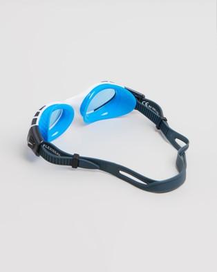 Speedo Futura Biofuse Flexiseal   Unisex - Goggles (Turquoise & Clear)