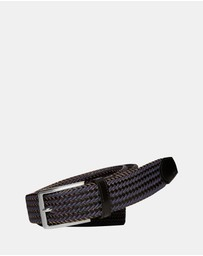 Buckle - Daytona 35mm Plaited Belt