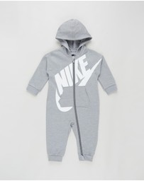 Nike - French Terry All Day Play Coveralls - Babies