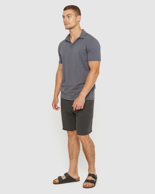 Jag The Jersey Slub Polo - Shirts & Polos (grey)