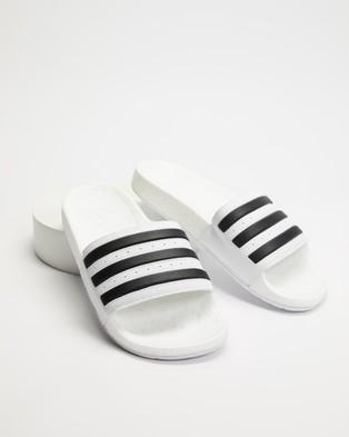 adidas Performance Adilette Boost   Unisex - Slides (Cloud White & Core Black)