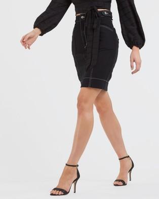 Amelius Nova Denim Skirt - Skirts (Black)