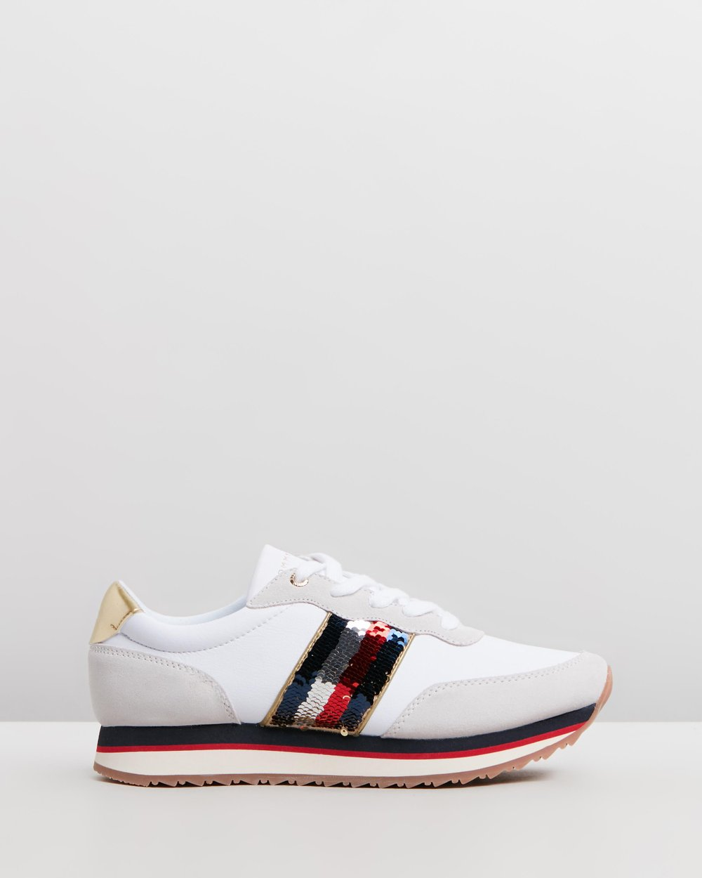 fd2670fe53166f Sequins Retro Runners - Women s by Tommy Hilfiger Online