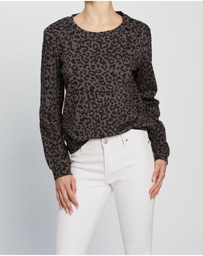 Atmos&Here - Pixie Relaxed Lounge Sweat Top