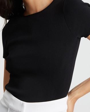 BWLDR Tatianna Knit Top - Tops (Black)