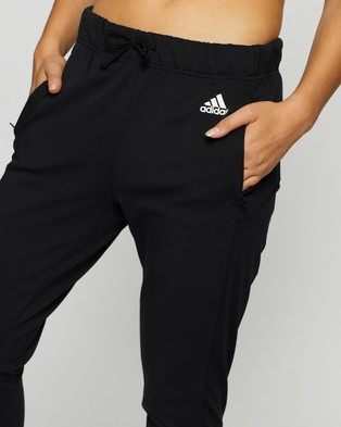 adidas Performance Designed To Move Aeroready Pants - Pants (Black & White)