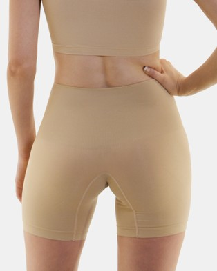 B Free Intimate Apparel Power Shaping Shorts - Briefs (Neutrals)