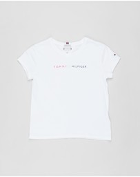Tommy Hilfiger - Essential Roll Up Short Sleeve Tee - Kids