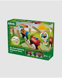 BRIO - My First Railway Beginner Pack 18 Pieces