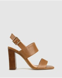 ZU - Sawyer Leather Block Heel Sandals