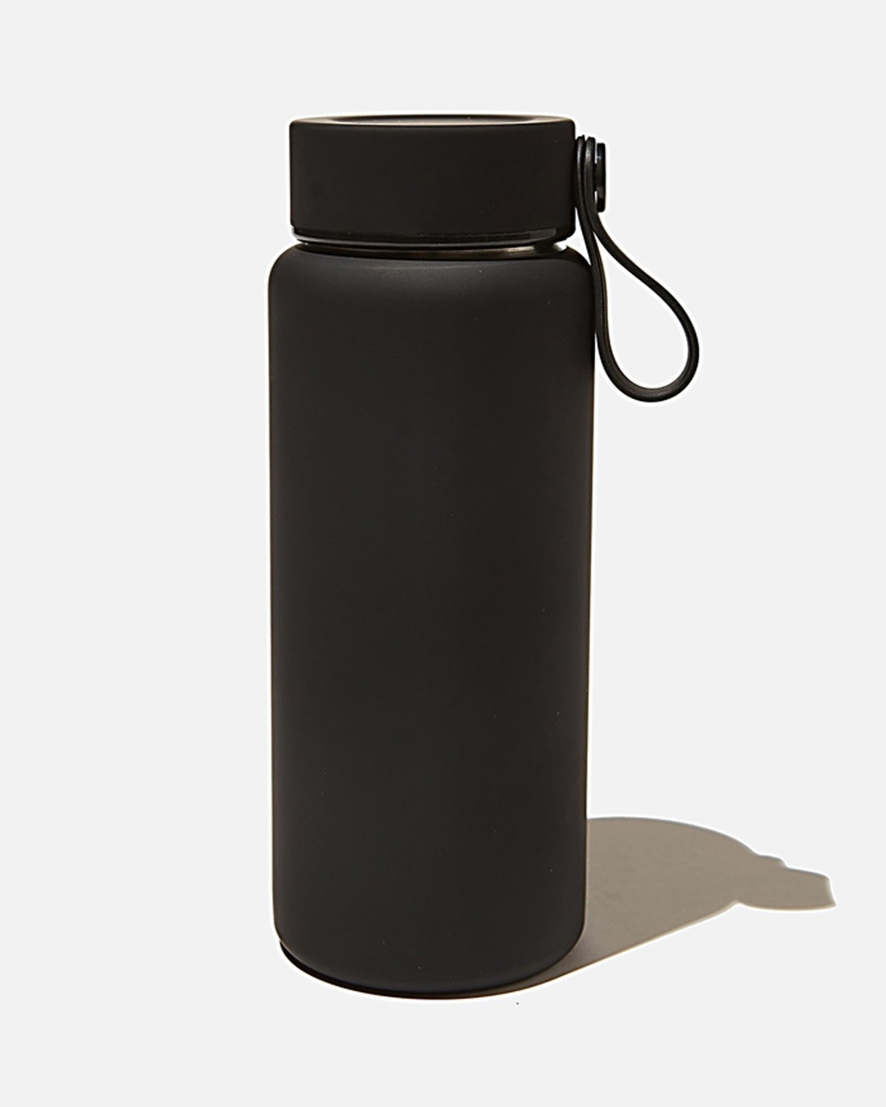 Typo On The Move Metal Drink Bottle 350ml Home Black