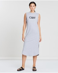 C & M Camilla and Marc - C & M Logo Tank Dress