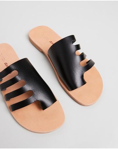 Ammos Ophelia Sandals Black