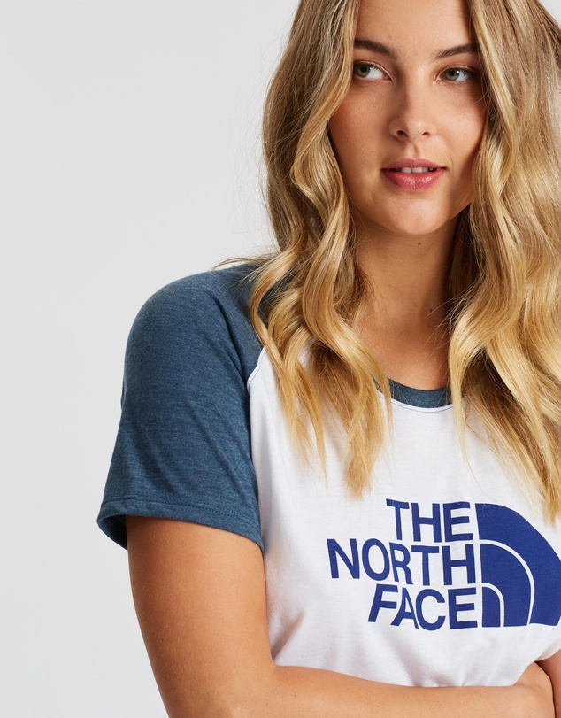 The North Face - Half-Dome Tri-Blend Baseball Tee