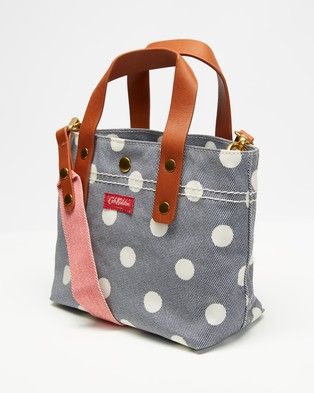 Cath Kidston Mini Brampton Cross Body Bag - Bags (Button Spot Twill)