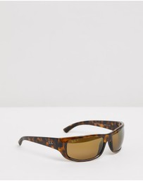 Ray-Ban - Injected Chromance Sunglasses - Men's RB4283CH
