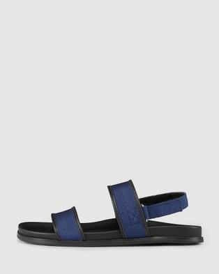 Aquila Sierra Sandals - Slides (Blue)