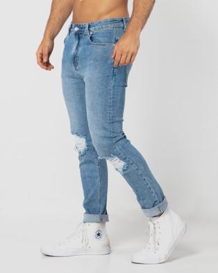 ONEBYONE Arizona Jeans - Slim (Blue)