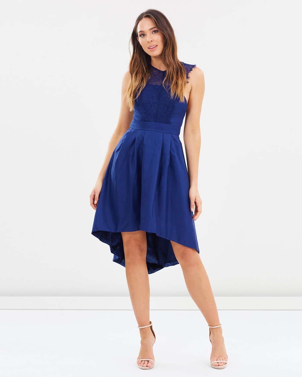 Chi Chi London Signe Dress Dresses Navy Signe Dress