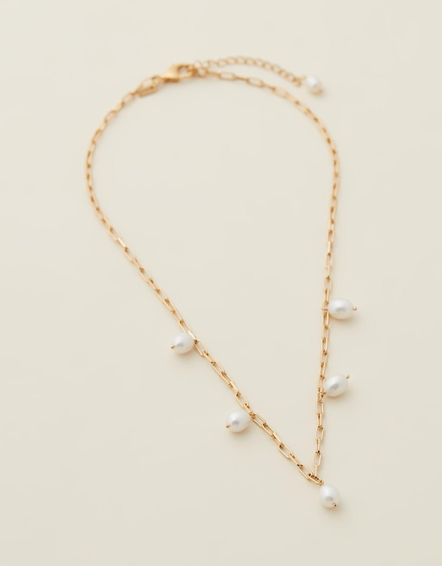 Women Sol Pearl Necklace